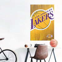 Los Angeles Lakers Team Logo NBA Wall Poster