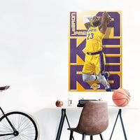 LeBron James Los Angeles Lakers NBA Wall Poster
