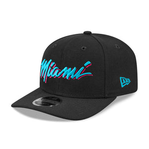 Miami Heat 9FIFTY Original Fit Pre-Curved NBA Snapback Hat