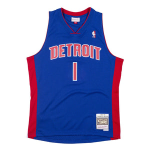 Chauncey Billups Detroit Pistons Hardwood Classics Throwback NBA Swingman Jersey