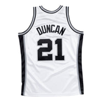 Tim Duncan San Antonio Spurs Hardwood Classics Throwback NBA Swingman Jersey