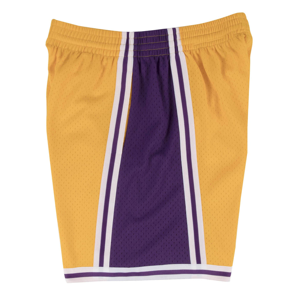 Los Angeles Lakers Hardwood Classics Throwback Swingman NBA Shorts