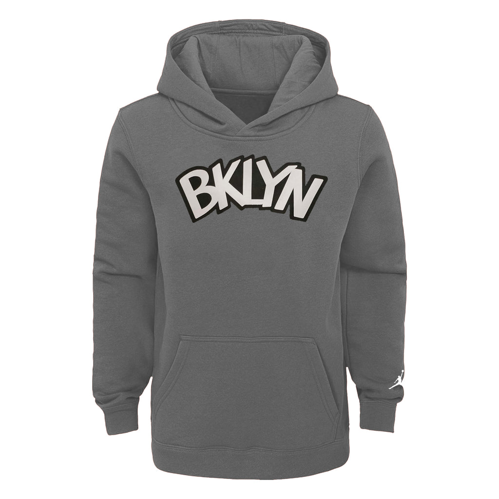 Brooklyn Nets Statement Edition Essential Logo Youth NBA Hoodie