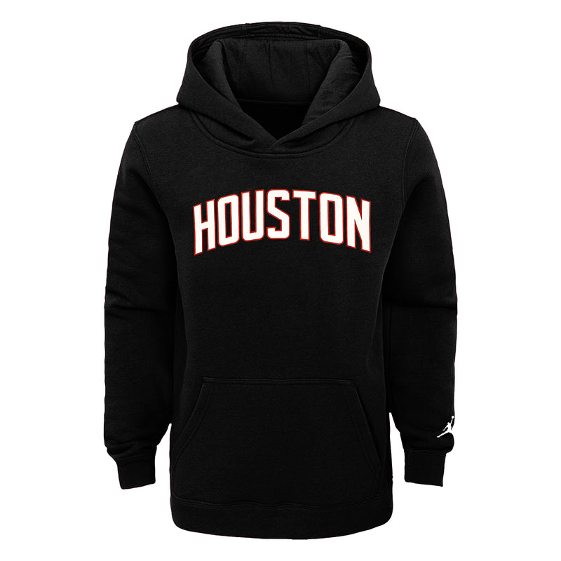 Houston Rockets Statement Edition Essential Logo Youth NBA Hoodie