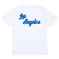 Los Angeles Lakers Retro Repeat Script NBA T-Shirt