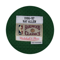 Ray Allen Milwaukee Bucks Hardwood Classics Throwback NBA Swingman Jersey