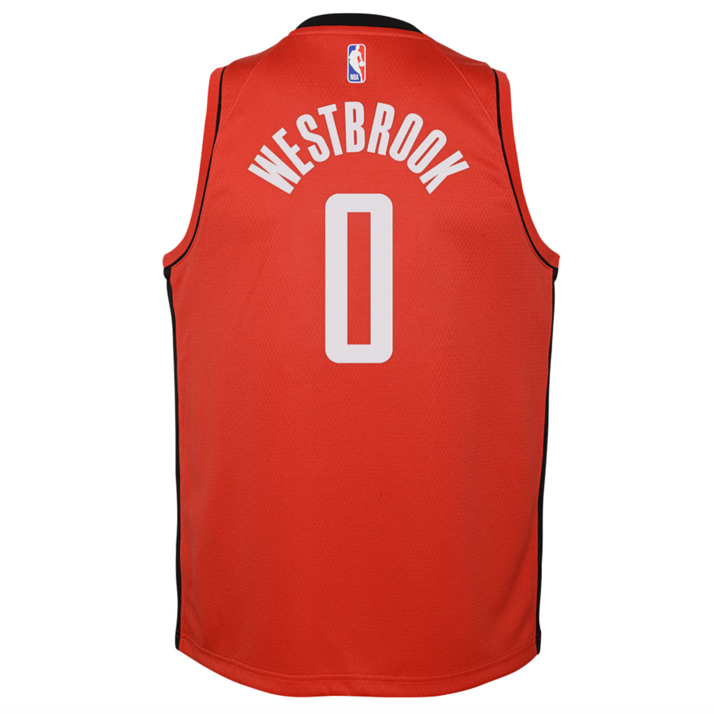 Russell Westbrook Houston Rockets Icon Edition Youth NBA Swingman Jersey
