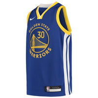 Stephen Curry Golden State Warriors Icon Edition Boys NBA Jersey