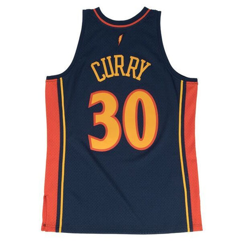 STEPHEN CURRY GOLDEN STATE WARRIORS NBA HARDWOOD CLASSICS THROWBACK JERSEY