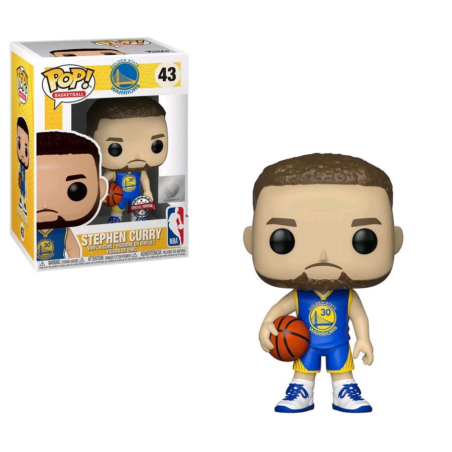 Stephen Curry Golden State Warriors Icon Edition NBA Pop Vinyl