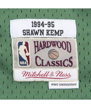 Shawn Kemp Seattle Supersonics Hardwood Classics Throwback NBA Swingman Jersey