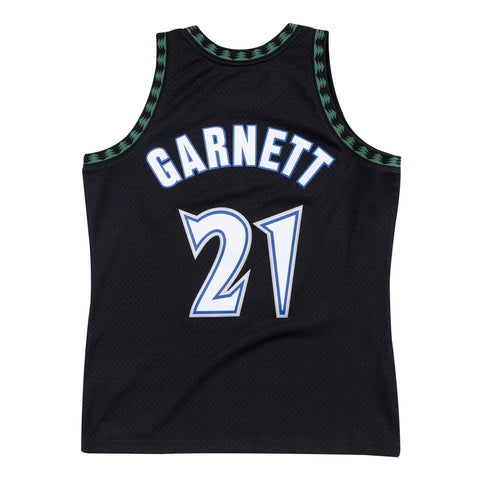 KEVIN GARNETT MINNESOTA TIMBERWOLVES NBA HARDWOOD CLASSIC THROWBACK SWINGMAN JERSEY