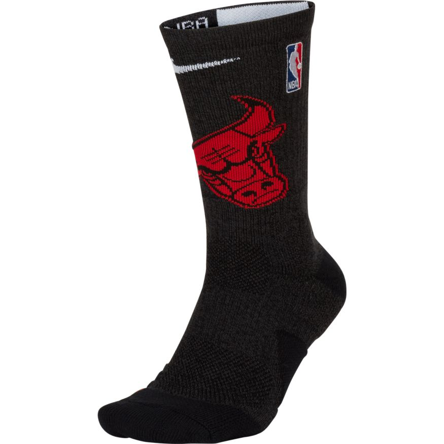 Chicago Bulls Nike Elite Quick Crew Basketball NBA Socks