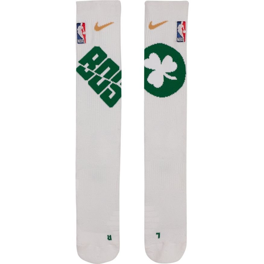 Boston Celtics Nike Elite Quick Crew Basketball NBA Socks