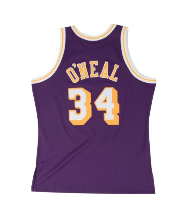 Shaquille O'Neal Los Angeles Lakers Hardwood Classics Throwback NBA Swingman Jersey