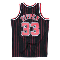Scottie Pippen Chicago Bulls Hardwood Classics Throwback Pinstripe NBA Swingman Jersey