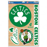 "Boston Celtics Decal 11"" x 17"" Stickers"