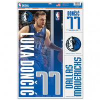 "Luka Dončić Dallas Mavericks Decal 11"" x 17"" Stickers"