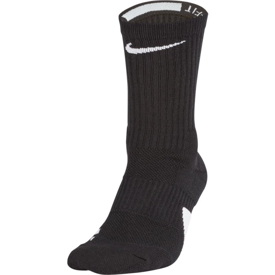 Quick Crew Basketball Black Nike Elite Socks