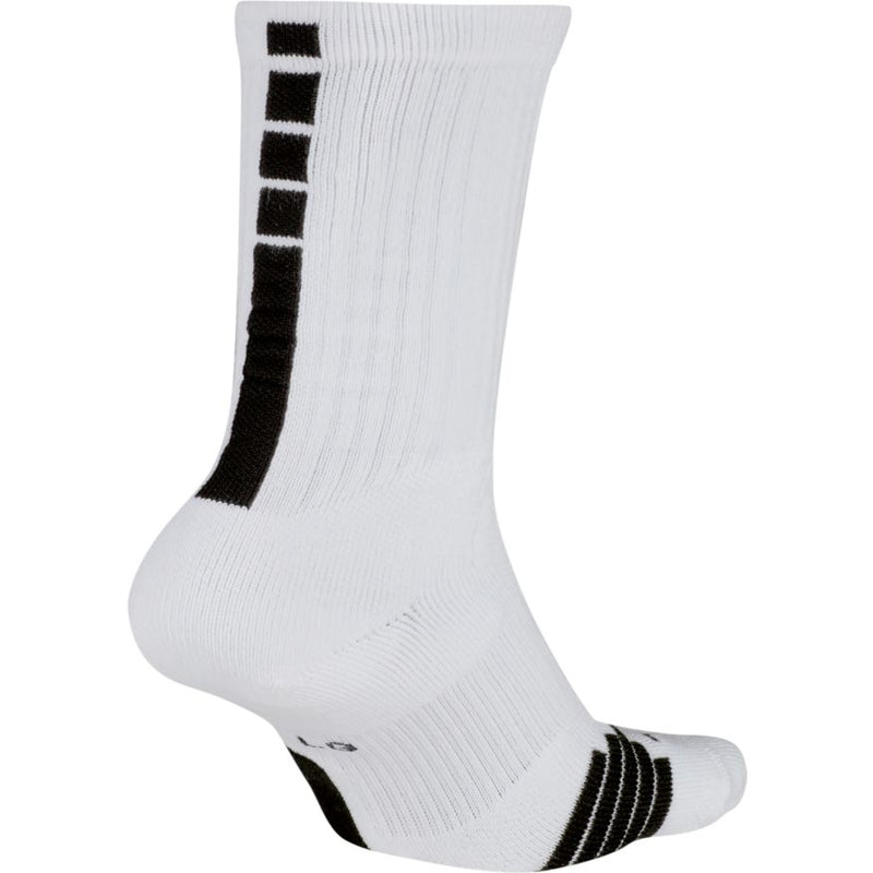 Quick Crew Basketball White Nike Elite Socks