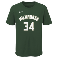 Giannis Antetokounmpo Milwaukee Bucks Icon Edition Youth Dri-Fit NBA T-Shirt
