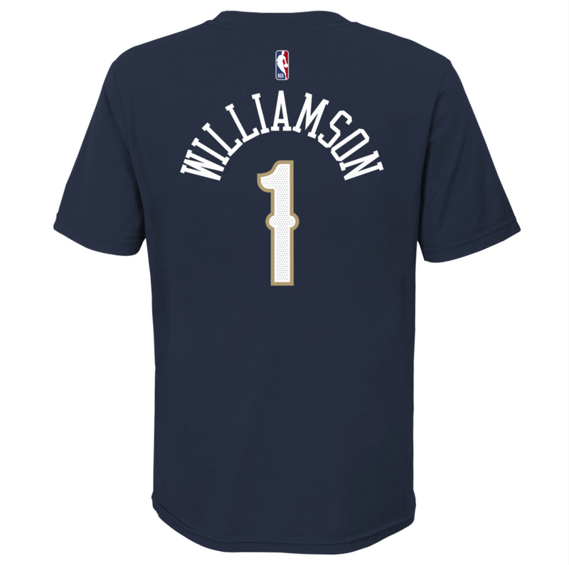 Zion Williamson New Orleans Pelicans Icon Edition Youth Dri-Fit NBA T-Shirt