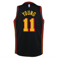 Trae Young Atlanta Hawks 2021 Statement Edition Youth NBA Swingman Jersey