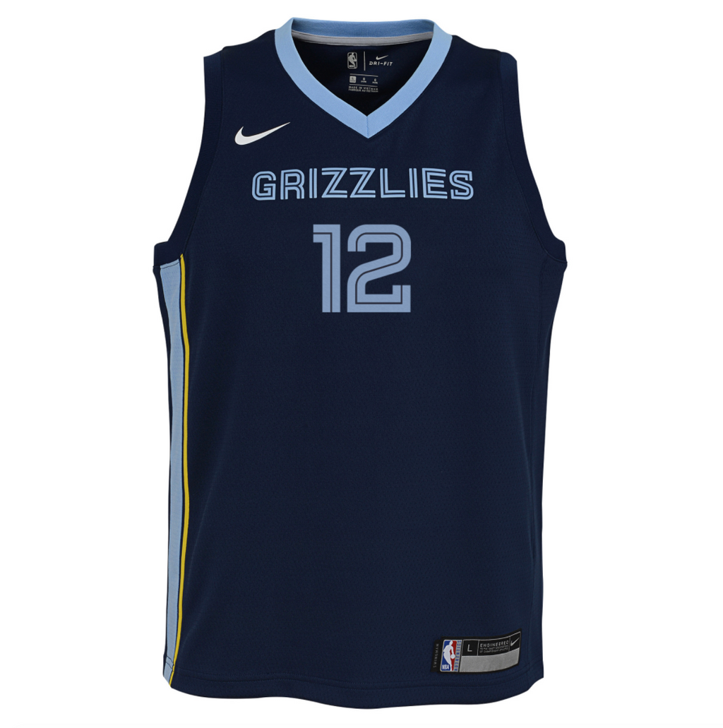 Ja Morant Memphis Grizzlies 2021 Icon Edition Youth NBA Swingman Jersey