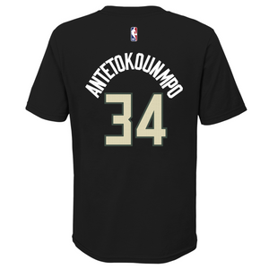 Giannis Antetokounmpo Milwaukee Bucks Statement Edition Youth Dri-Fit NBA T-Shirt
