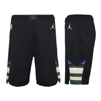 Milwaukee Bucks 2021 Statement Edition Swingman Youth NBA Shorts
