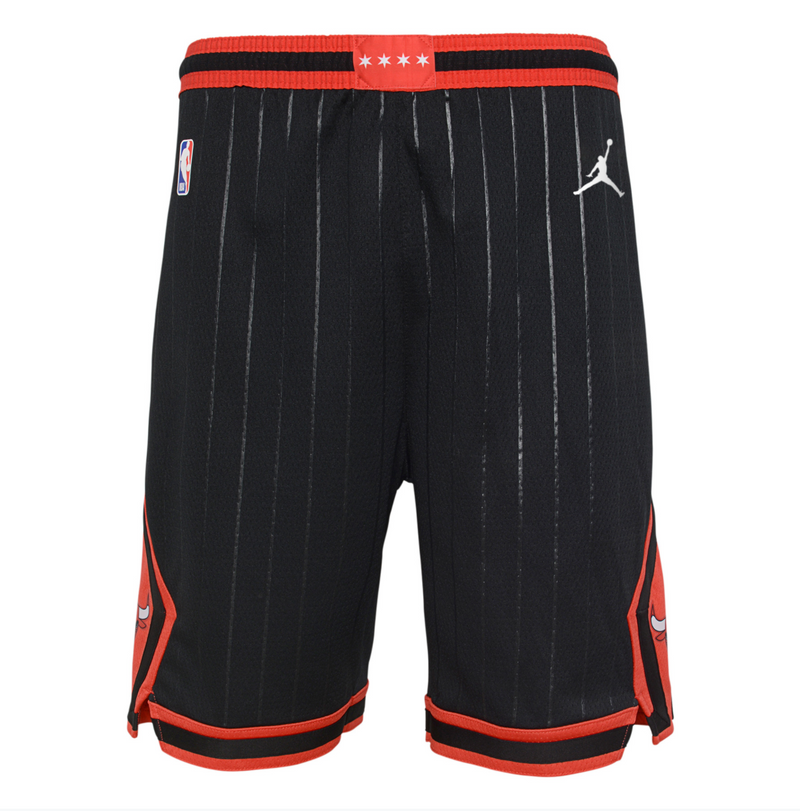 Chicago Bulls 2021 Statement Edition Swingman Youth NBA Shorts