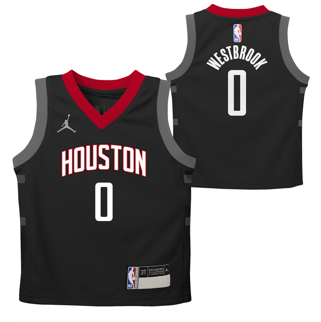 Russell Westbrook Houston Rockets 2021 Statement Edition Toddler NBA Jersey