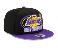 Los Angeles Lakers 9FIFTY 2020 NBA Champions Snapback Hat