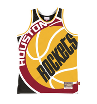 Houston Rockets Hardwood Classics Throwback Blown Out NBA Fashion Jersey