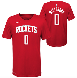 Russell Westbrook Houston Rockets Icon Edition Youth Dri-Fit NBA T-Shirt
