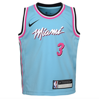 Dwyane Wade Miami Heat City Edition Toddler NBA Jersey
