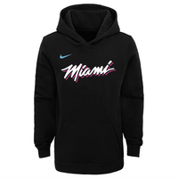 Miami Heat City Edition Logo Youth NBA Hoodie