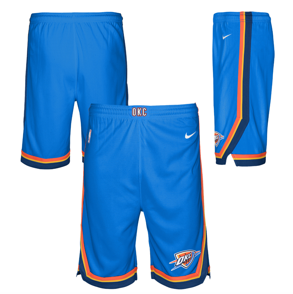 Oklahoma City Thunder Icon Edition Swingman Youth NBA Shorts