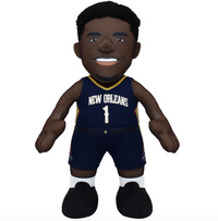 "Zion Williamson New Orleans Pelicans NBA 10"" Bleacher Creature"