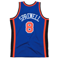 Latrell Sprewell New York Knicks Hardwood Classics Throwback NBA Swingman Jersey