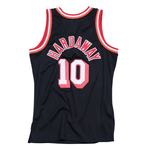 TIM HARDAWAY MIAMI HEAT NBA HARDWOOD CLASSICS THROWBACK SWINGMAN JERSEY