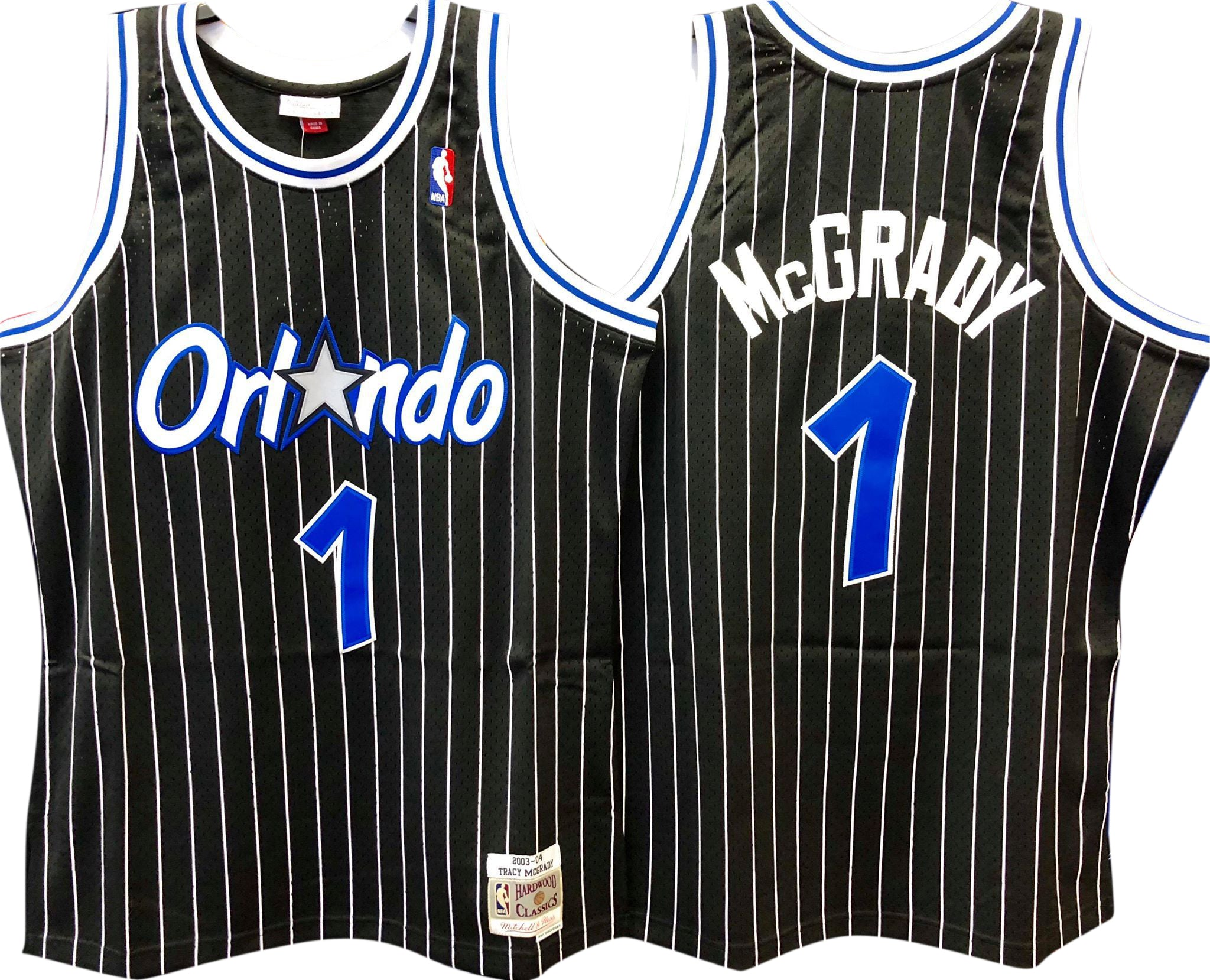 864fde68b7a3 closeout shaquille oneal 94 95 orlando magic mitchell ness authentic black  jersey 40 738e6 784af  canada tracy mcgrady orlando magic nba hardwood  classics ...