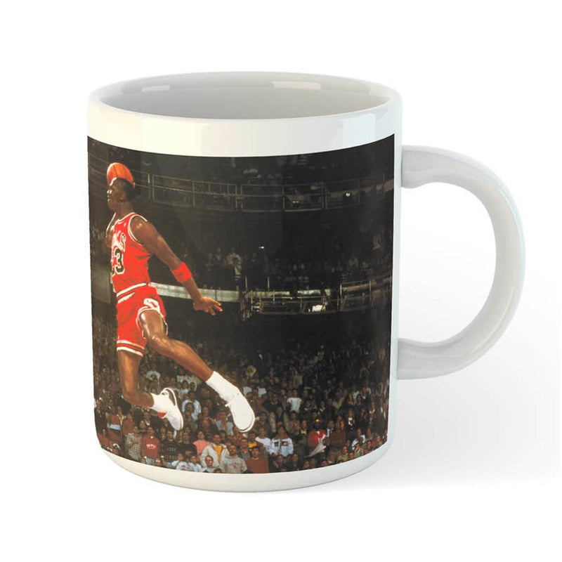 Michael Jordan Slam Dunk Coffee Mug