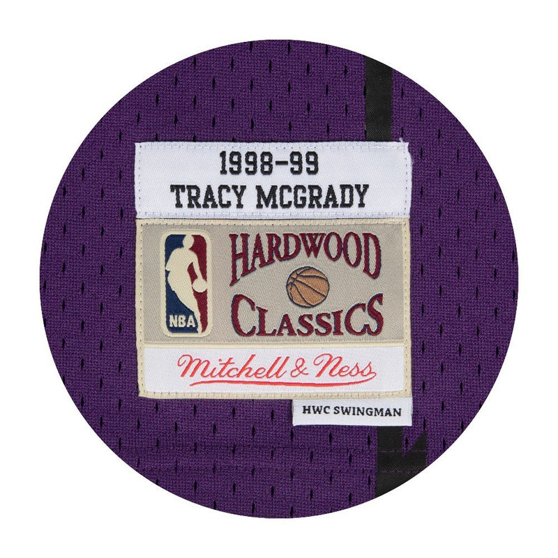 Tracy McGrady Toronto Raptors Hardwood Classics Throwback NBA Swingman Jersey