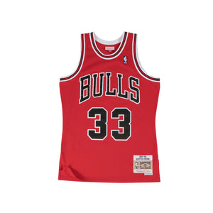 Scottie Pippen Chicago Bulls HWC Mitchell & Ness Youth NBA Swingman Jersey