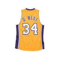 Shaquille O'Neal Los Angeles Lakers HWC Mitchell & Ness Youth NBA Swingman Jersey