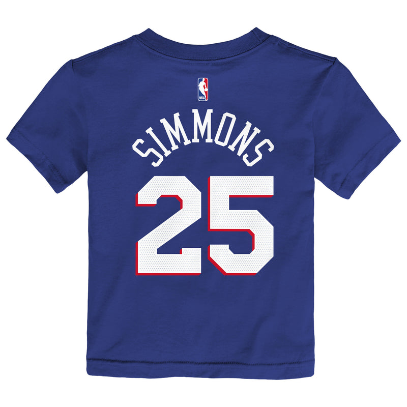 BEN SIMMONS PHILADELPHIA 76ERS ICON EDITION BOYS NBA T-SHIRT - Basketball Jersey World