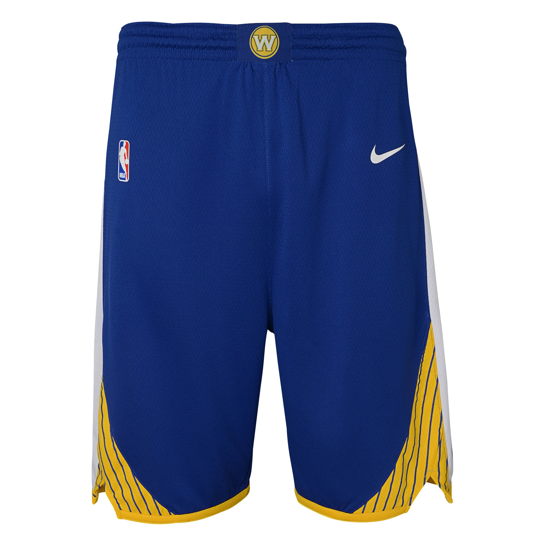 detailed look 4575c 5167f Golden State Warriors Icon Edition Swingman Youth NBA Shorts