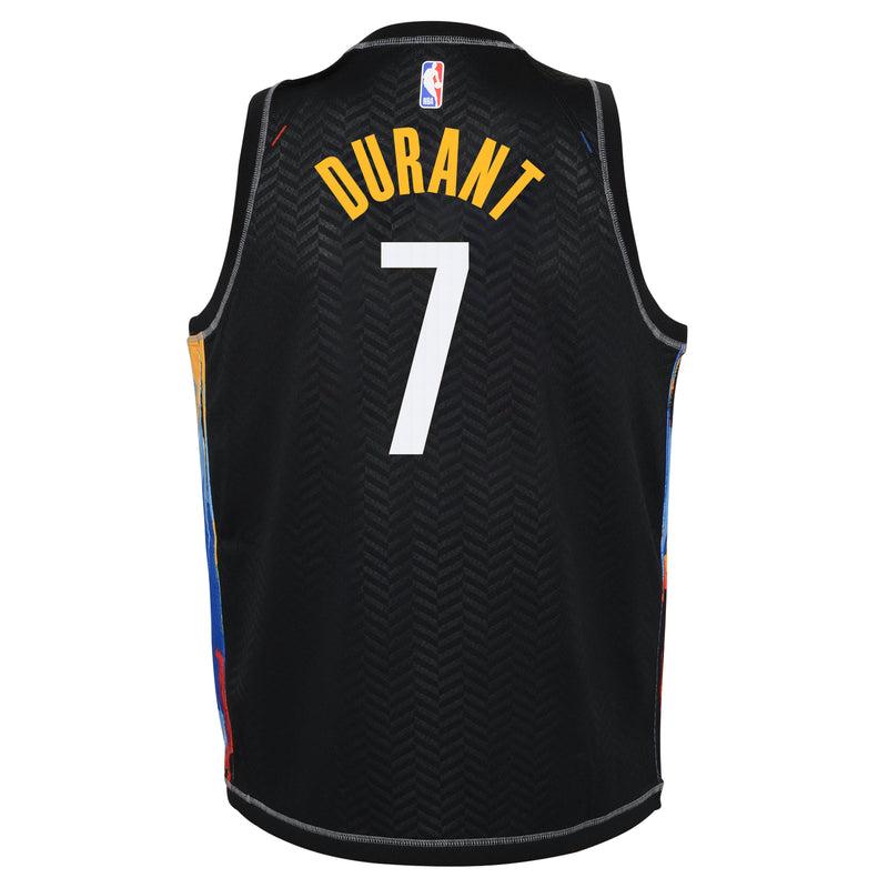 Kevin Durant Brooklyn Nets City Edition Youth NBA Swingman Jersey