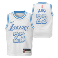 LeBron James Los Angeles Lakers City Edition Toddler NBA Jersey